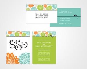 Wedding Stationery Design vonRocko Design Seattle