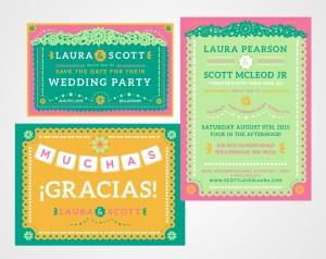 Laura & Scott's Wedding Branding