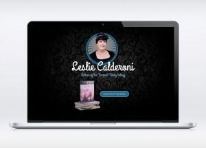 Leslie Calderoni Tempest Trinity Website Design