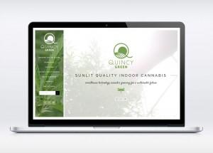 Quincy Green Cannabis Website Design