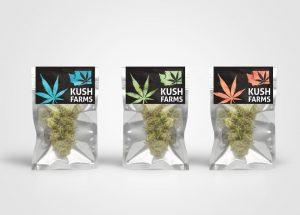 Cannabis Brand Label Design